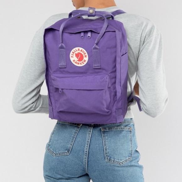 04f8befde Fjallraven Handbags - Fjallraven Kanken Daypack Purple